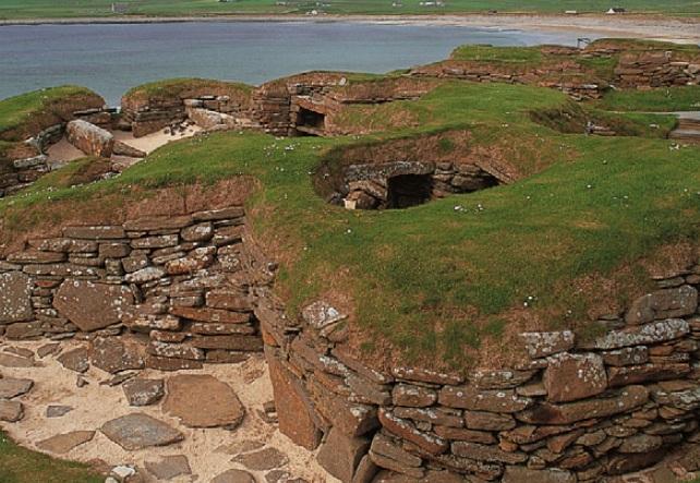 Неолитическое жилище Скара-Брей