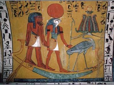 Ра - бог Солнца, верховный египетский бог