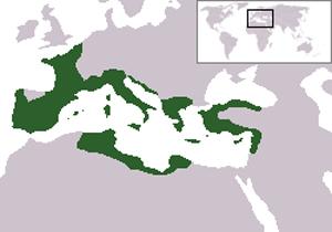 Римская империя в конце правления Цезаря