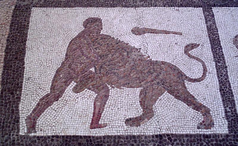Битва Геракла с Немейским львом