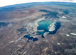 Аральское море. Вид из космоса