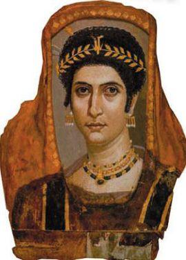 Фаюмский портрет. Портрет молодой дамы. II в.