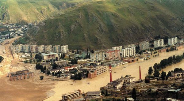 сель, сошедший на город Тырныауз