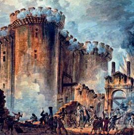 Взятие Бастилии 14 июля 1789 г.