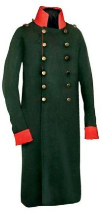 Сюртук русского генерала от кавалерии. 1812-1815