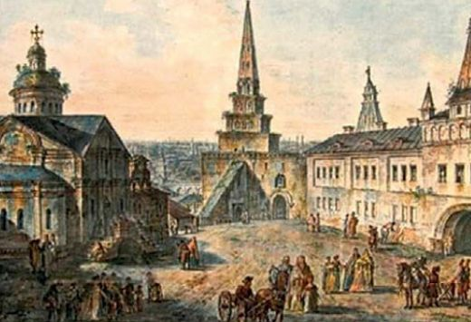 Москва до пожара 1812 г.
