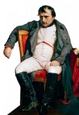 Наполеон в Фонтенбло