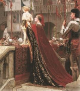 Представление принца вассалам