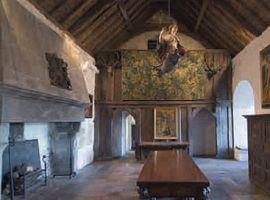 Интерьер средневекового замка
