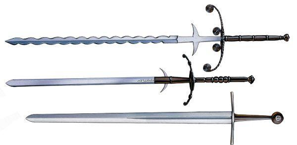 Немецкие рыцарские мечи XIV–XVI вв.