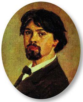 В.И. Суриков АВТОПОРТРЕТ