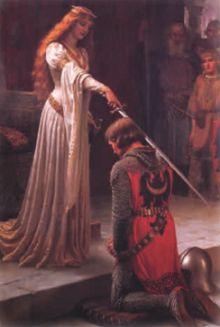 Церемония посвящения в рыцари