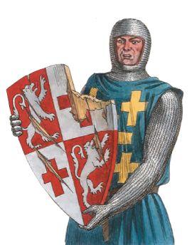 Сломанный щит осуждённого рыцаря