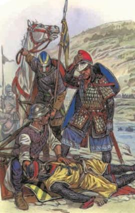 Гибель императора Фридриха I Барбароссы