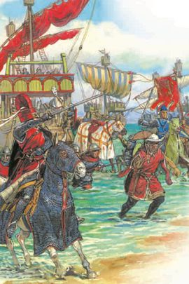 Высадка в Константинополе