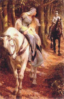 Рыцарь Герайнт и его возлюбленная Энид
