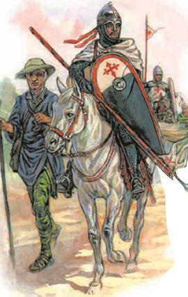 Рыцари испанского ордена Сантьяго