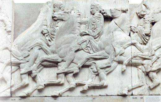 Кавалькада афинских юношей