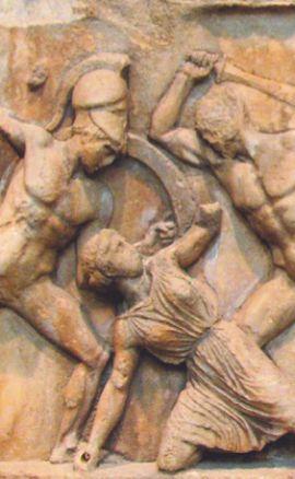 Фриз Галикарнасского мавзолея в Бодруме
