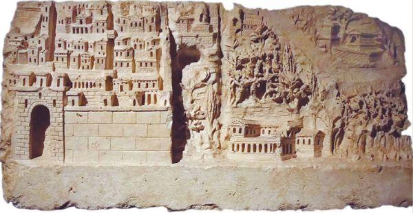 Городская панорама эпохи античности