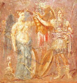 Фреска из Помпей.