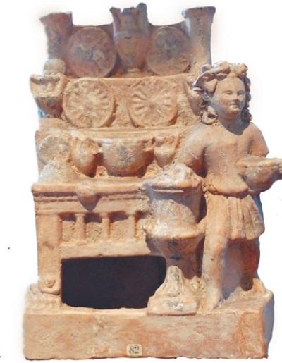 Мирина, терракотовая группа, III в. до н. э.