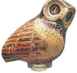 Сова, священная птица богини Афины