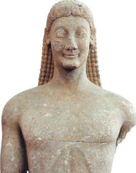 Курос из Фив, 540 г. до н. э.