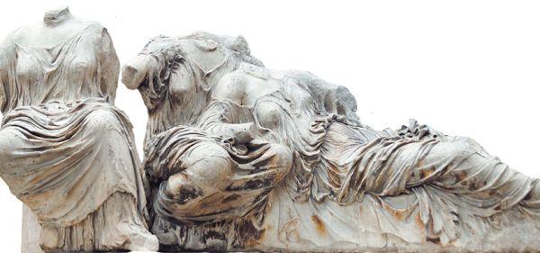 Гестия, Диона и Афродита работы Фидия