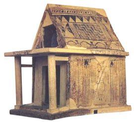 Модель храма Геры в Аргосе