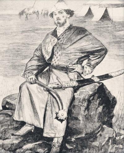 Алёша Попович. А. П. Рябушкин. 1895 г.