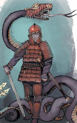 Тугарин Змей. А. В. Красников, А. Н. Жалибо