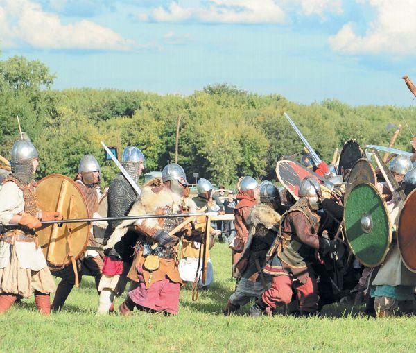 Масштабная реконструкция может проводиться по любой исторической битве