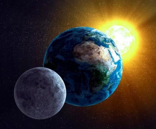Трудно представить, но Луна когда-то была частью Земли