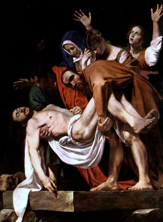 Караваджо «Положение во гроб» (1604)