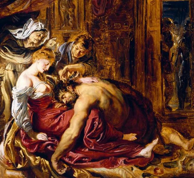 Рубенс «Самсон и Далила»