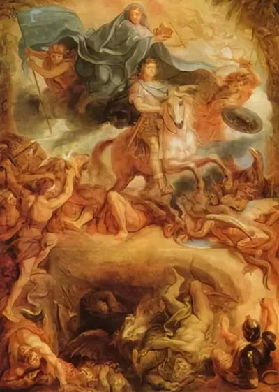 Шарль Лебрен «Апофеоз Людовика XIV»