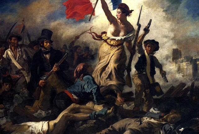 Эжен Делакруа «Свобода, ведущая народ»