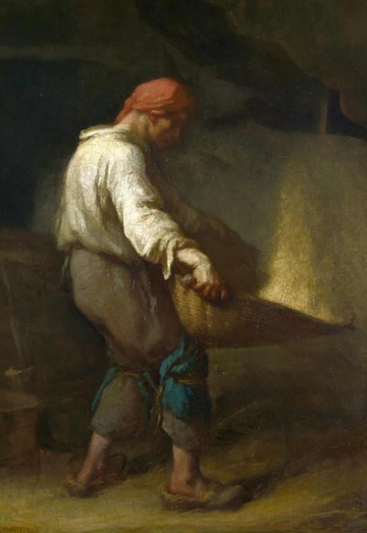 Жан Франсуа Милле «Веяльщик»