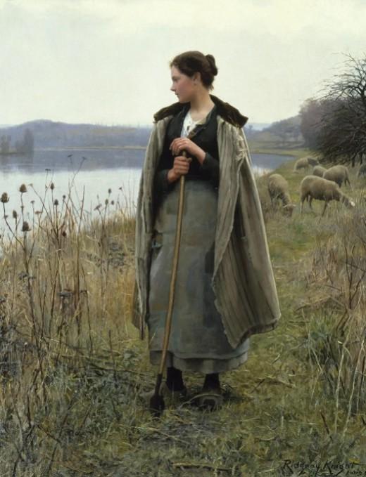 Даниэль Риджуэй Найт «Пастушка из Рольбуаз»