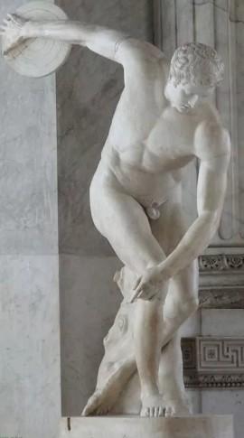 Римская копия скульптуры Мирона «Дискобол»