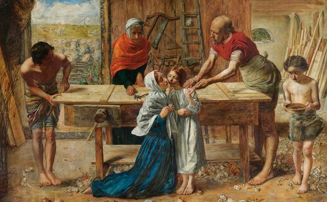 Джон Эверетт Миллес «Христос в родительском доме»