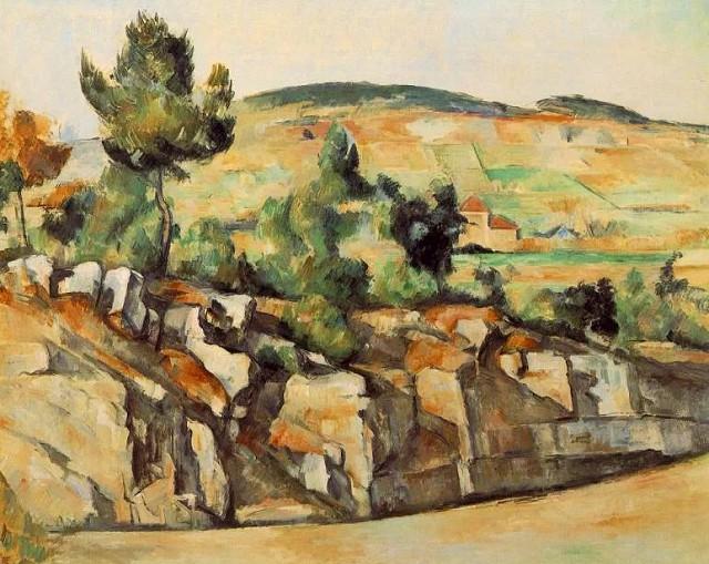 Поль Сезанн «Горы в Провансе» (ок. 1890)