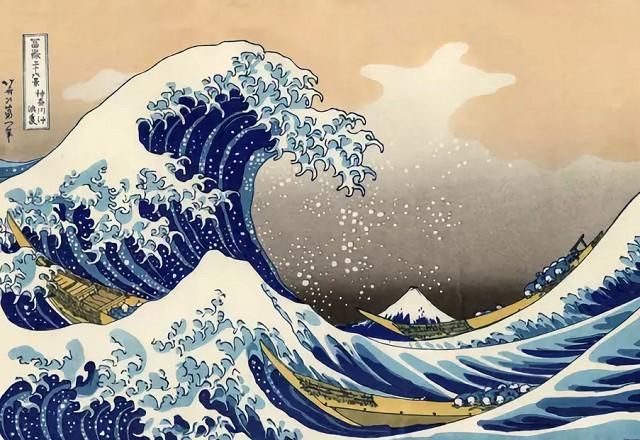 Кацусика Хокусай «Большая волна в Канагаве»