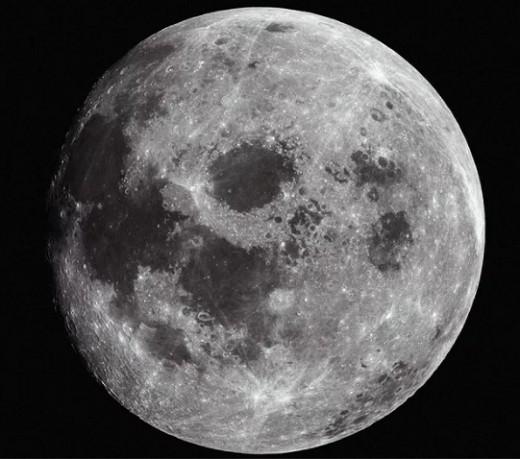 Луна, спутник Земли
