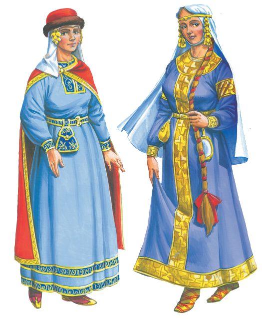 Женщины в Древней Руси