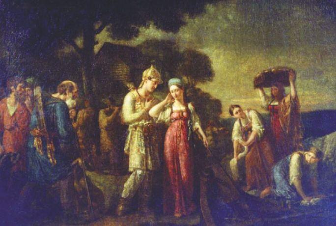 Первая встреча Игоря с Ольгой