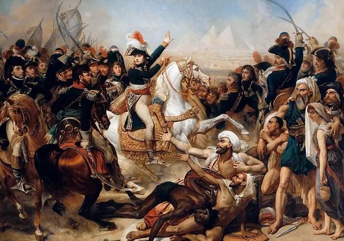 Антуан-Жан Гро. Битва у пирамид. 1810
