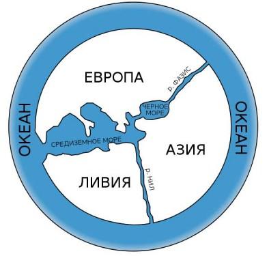карта Анаксимандра