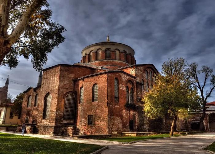 Церковь Святой Ирины,Турция